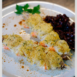 ricetta spiedini di mare con confettura di cipolle rosse meno 30 surgelati