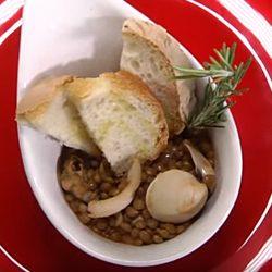 antipasto di mare zuppetta lenticchie rosmarino meno 30 surgelati