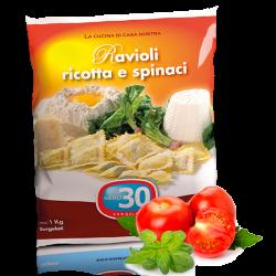 ravioli ricotta e spinaci Meno 30 Surgelati