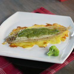 sogliola al forno con patate e crema broccoli meno 30 surgelati
